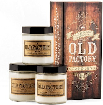 Old Factory Scented Soy Candles