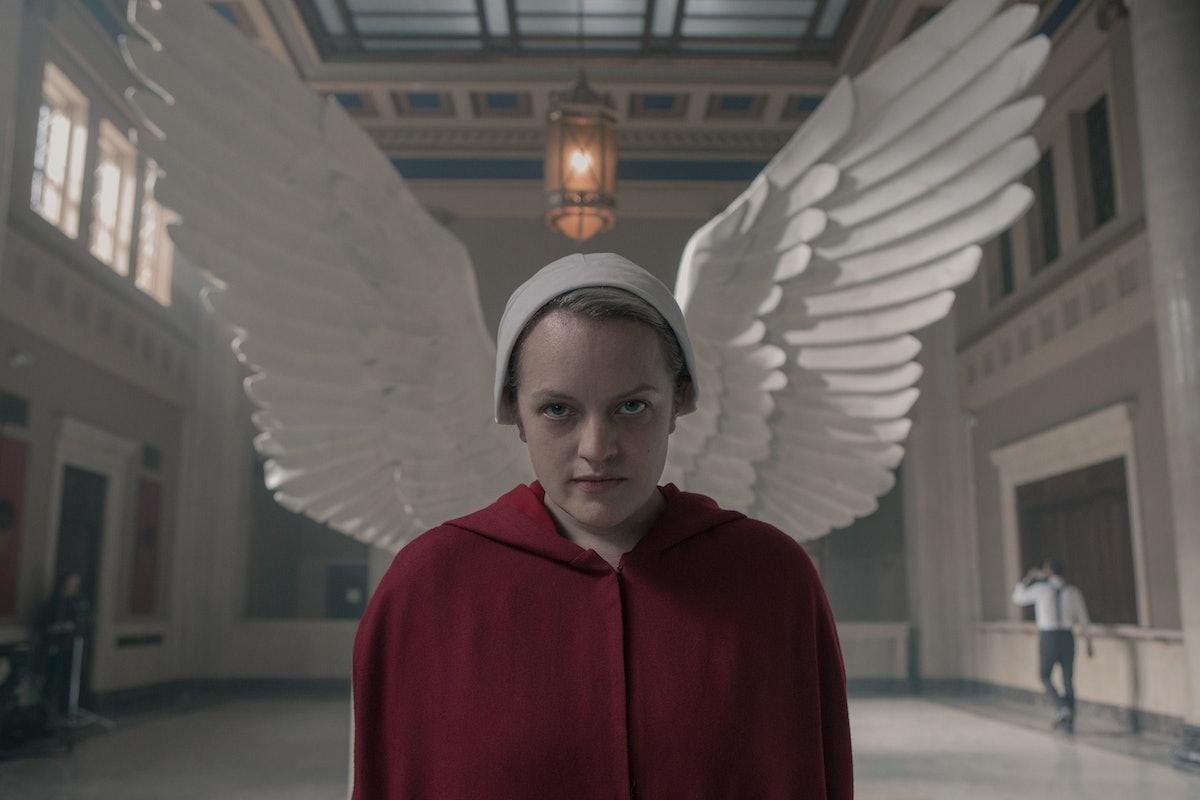 Elisabeth Moss as June in The Handmaid's Tale Season 3