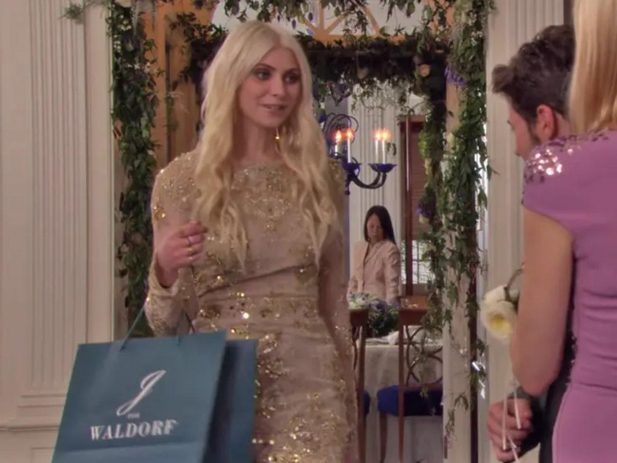 Taylor Momsen as Jenny Humphrey on The CW's 'Gossip Girl'