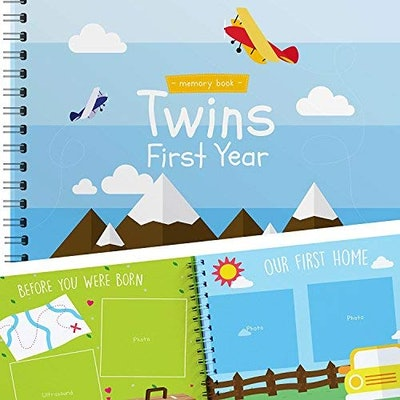 Unconditional Rosie Twins First Year Memory Book
