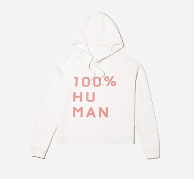 The 100% Human Typography Hoodie