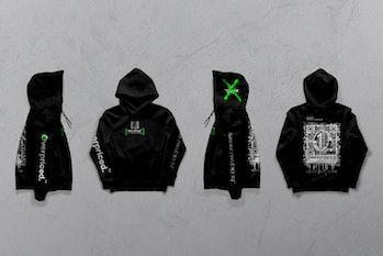 Overpriced.™ NFT-powered hoodie