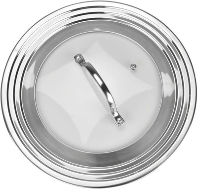 Modern Innovations Stainless Steel Universal Lid for Pots, Pans and Skillets