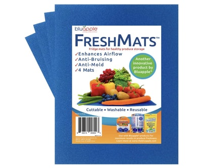 Bluapple FreshMats Refrigerator Fruit and Vegetable Shelf Liner