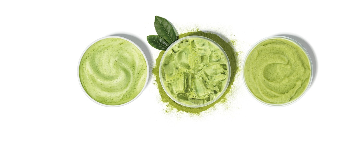 The caffeine in Dunkin's Green Tea vs. Matcha point out a big difference.