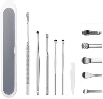 Sinen Ear Pick Cleansing Tool Set (5 Pieces)