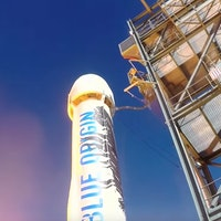 Blue Origin test flight livestream, launch site, start time for mission NS-15