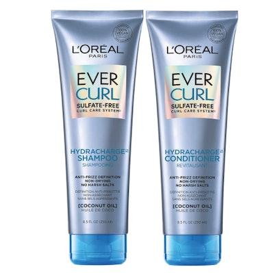 L'Oréal EverCurl Sulfate-Free Shampoo and Conditioner, 8.5 Oz. Each