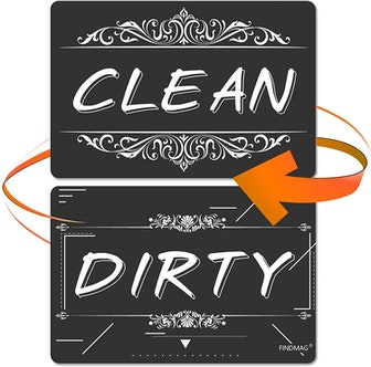 FINDMAG Dishwasher Magnet Clean/Dirty Sign