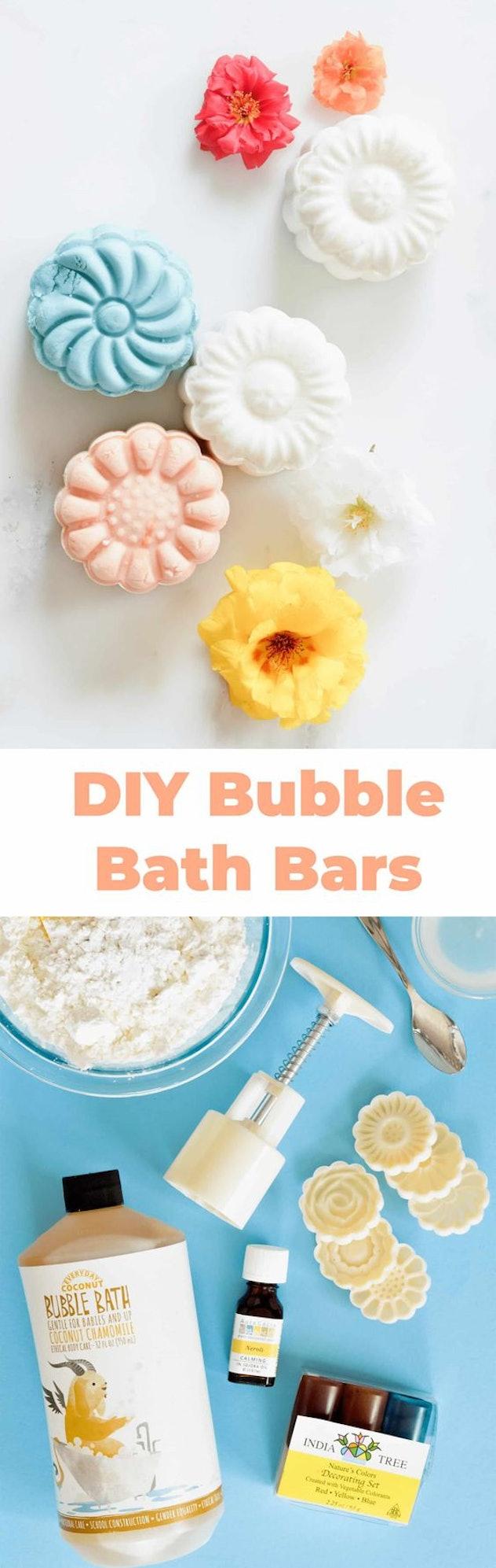 Bubble bath bars.