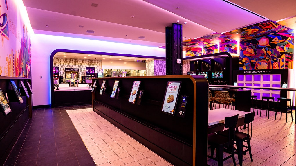 Taco Bell's Times Square digital Cantina opens April 14.