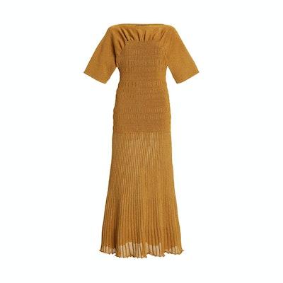 Proenza Schouler  Smock Knit Midi Dress