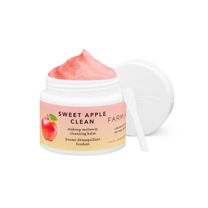 Farmacy's Sweet Apple Clean Makeup Removing Cleansing Balm