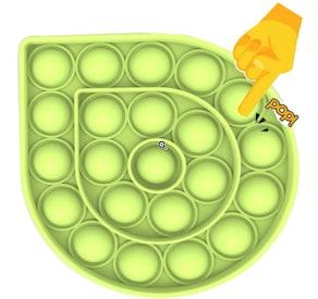 Autoau Push Pop Bubble Sensory Toy