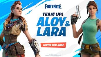 Fortnite Team Up! Aloy & Lara