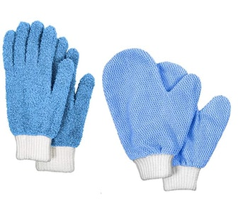 TidyUps Microfiber Cleaning Gloves (2-Pack)
