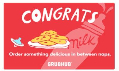 Grubhub Gift Card - Digital