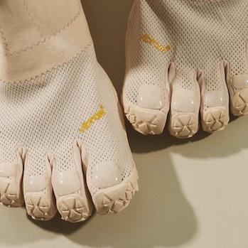Midorikawa x Suicoke toe shoes
