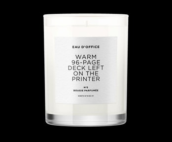 Eau D'Office scented candle option photo