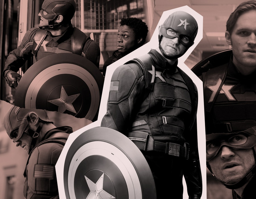 John Walker aka Captain America in 'Falcon and the Winter Soldier'