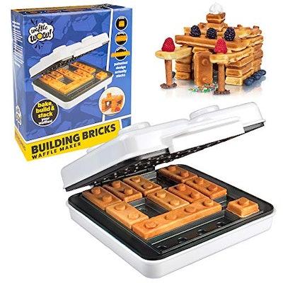 CucinaPro Building Brick Electric Waffle Maker