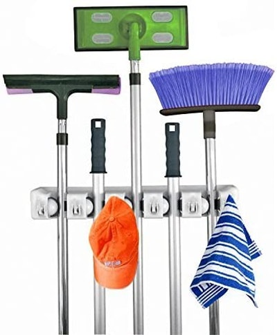 Home- It Mop& Broom Holder