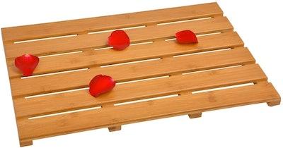 Domax Bamboo Bath Mat