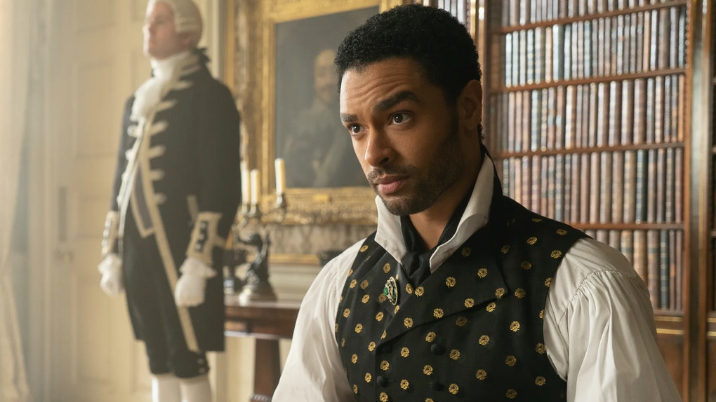 Regé-Jean Page as Simon Basset duke of Hastings in Netflix's 'Bridgerton""
