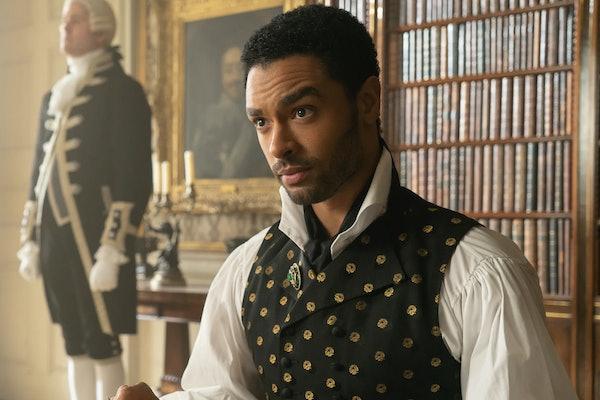 "Regé-Jean Page as Simon Basset duke of Hastings in Netflix's 'Bridgerton"""