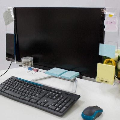DailyTreasures Acrylic Monitor Memo Boards (Set of 3)