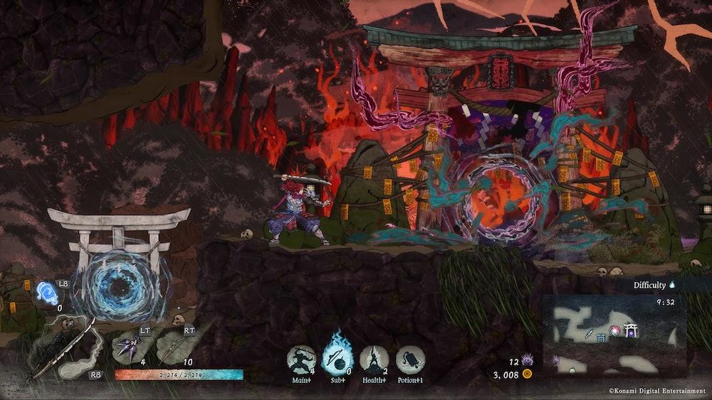 GetsuFumaDen: Undying Moon screenshot
