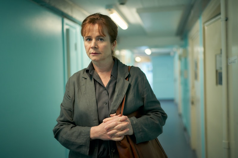 EMILY WATSON as Dr Emma Robertson in ITV's 'Too Close'