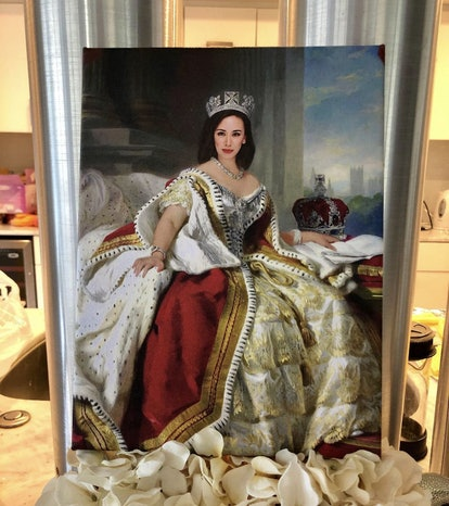 Custom Queen Portrait, Renaissance Portrait