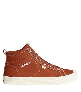 OCA High Pantone Picante Canvas Sneaker