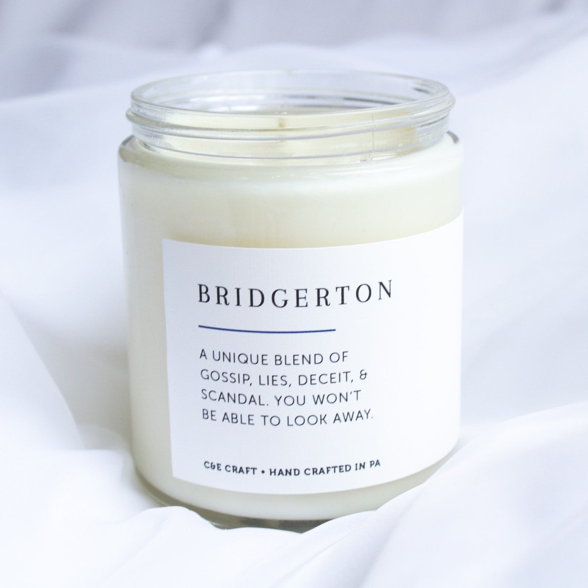 C&E - Bridgerton - Soy Wax Candle - Scented Candle