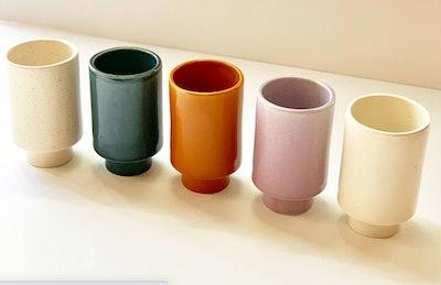 Kaya Solid Ceramic Cups by Justina Blakeney®