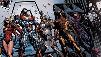The Dark Avengers as seen in the Marvel Comics