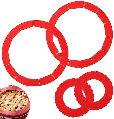 AHIER Pie Crust Shields (4-Pack)