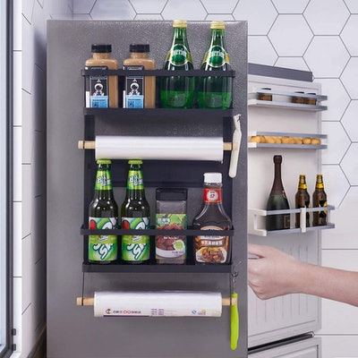Magnetic Fridge Organizer Spice Rack