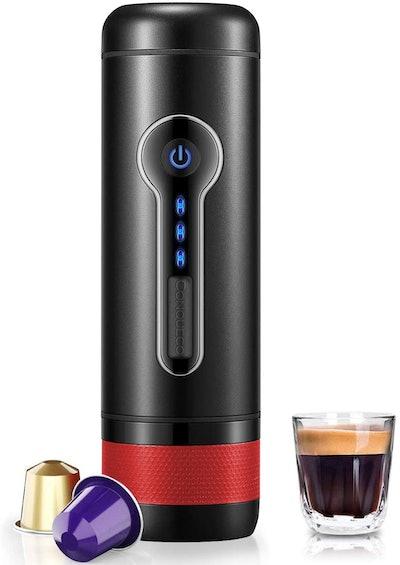 CONQUECO Portable 12-Volt Espresso Maker