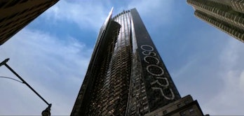 Oscorp Industries in The Amazing Spider-Man