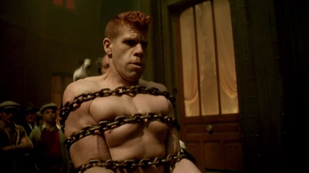 Ron Perlman in The City of Lost Children.