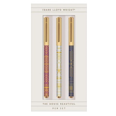 Frank Lloyd Wright House Beautiful Pen Set