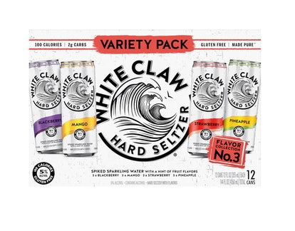 White Claw Hard Seltzer, Variety Pack