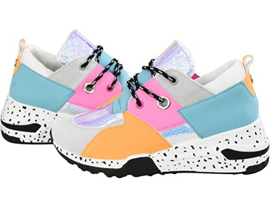 LUCKY STEP Colorblock Sneakers