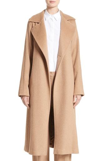 Manuela Camel Hair Coat