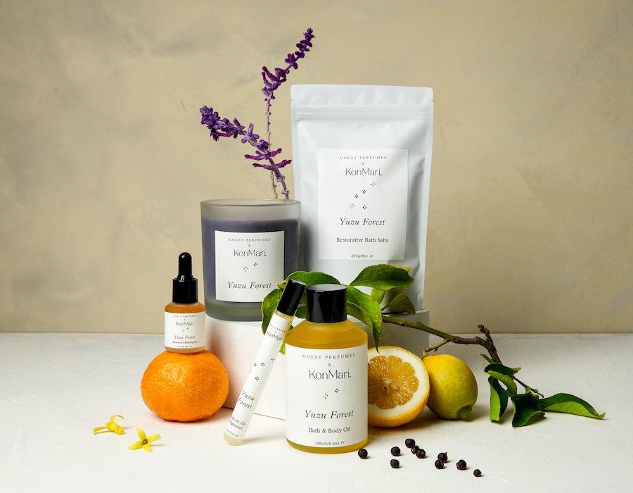 wellness products KonMari X Goest Collaboration