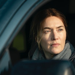 Kate Winslet in 'Mare of Easttown' via HBO press site.