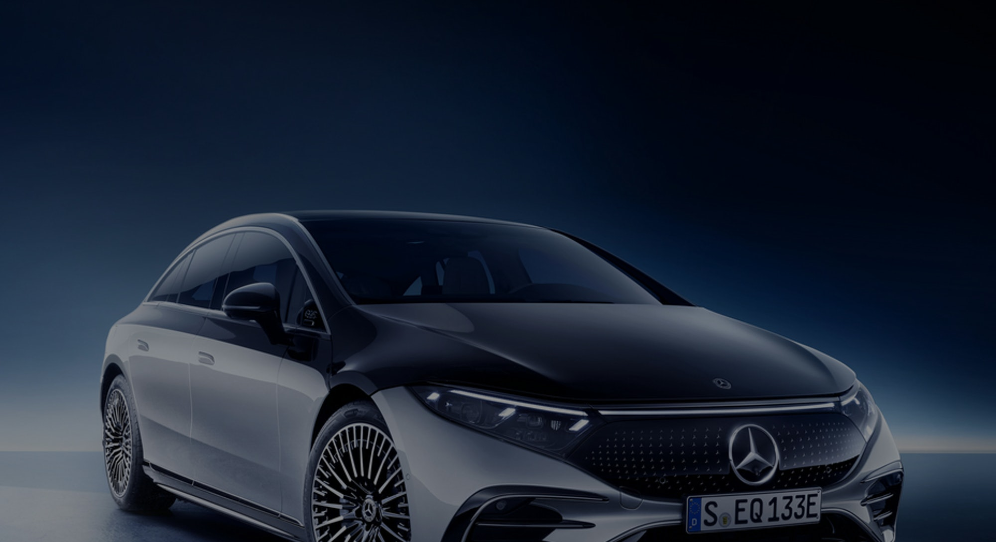 Mercedes-Benz's EQS electric sedan. Electric vehicles. EV. Electric cars. Automotive.