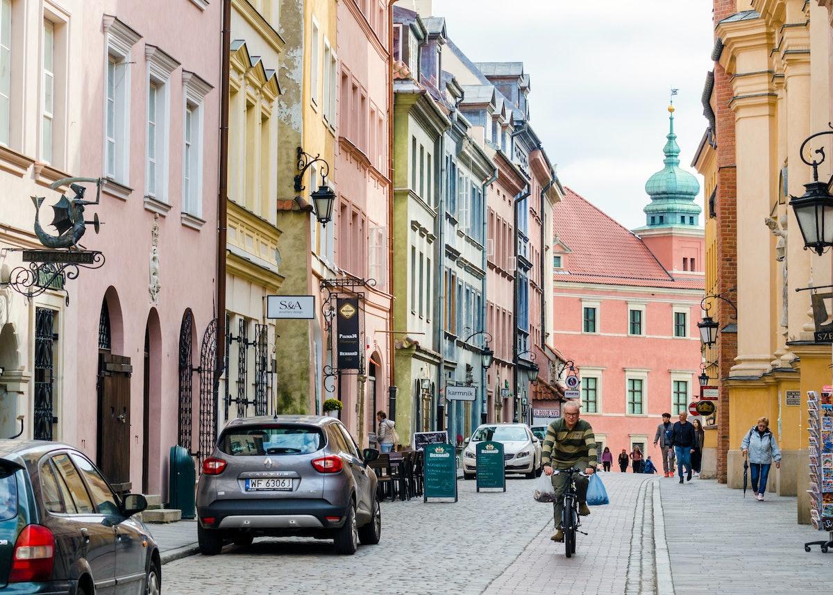 Warsaw Poland post-pandemic travel destinations